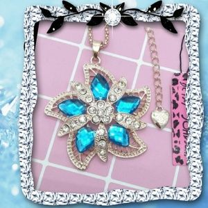 Betsey Johnson Flower Necklace